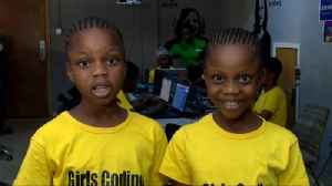 'Why shouldn't girls learn how to code?' [Video]