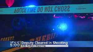 'Use Of Deadly Force Was Justified': Deputy Won't Be Charged For Shooting, Wounding Man With Knife [Video]