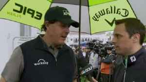 Mickelson surprised to go low [Video]
