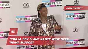 Soulja Boy Is Giving Kanye West Grief Over Trump [Video]