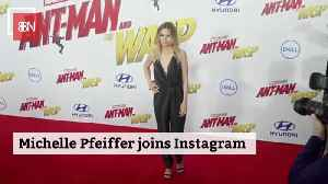 Michelle Pfeiffer Finally Joins The Social Media Crowd [Video]