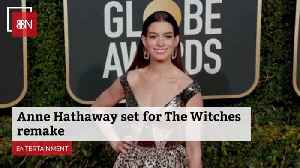 Anne Hathaway Will Be A Witch [Video]