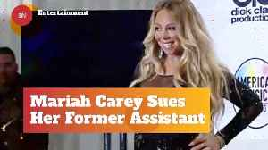 News video: Mariah Carey Is Suing Her Former Assistant For Blackmail