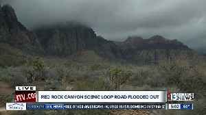 Red Rock Scenic Loop closed because of flooding [Video]