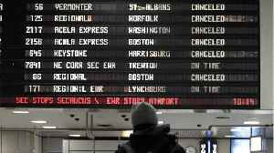Amtrak Cancels Trains Ahead of Winter Storms [Video]
