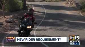 Motorcyclists may soon be required to wear helmets [Video]