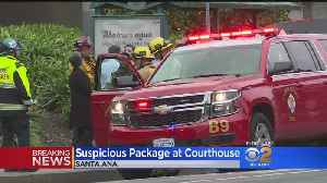 2 Hospitalized After Suspicious Package Is Opened In OC Courthouse [Video]
