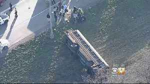All 9 Students Released From Hospital After School Bus Overturns In Dallas [Video]