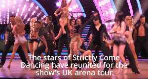 Strictly stars reunite ahead of UK arena tour [Video]