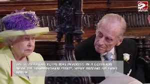 Prince Philip breathalysed! [Video]