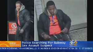 Search For Suspect In Subway Sex Assault [Video]