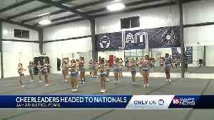 Cheerleaders from Pearl gym to compete in national competition [Video]