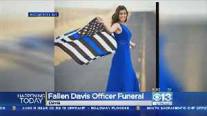 Thousands Expected At Memorial For Slain Davis Officer Natalie Corona [Video]