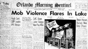 Groveland after the pardoning of the Groveland Four [Video]
