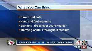 What you need to know if you're heading to the Chiefs game Sunday [Video]
