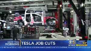 Tesla Announces Job Cuts In Attempt To Produce Lower-Priced Car [Video]