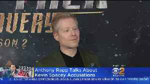 'I Felt Protected': Anthony Rapp Speaks About Why He Came Forward About Kevin Spacey [Video]