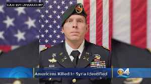 South Florida Soldier Among 4 Americans Killed In Syria Bombing [Video]