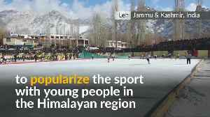India promotes Ice hockey for the youth in the Himalayas [Video]
