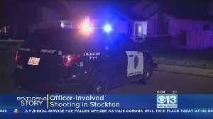 Wanted Parolee Shot By Officers In Stockton After Allegedly Pulling Gun [Video]