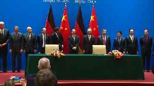Germany, China pledge deeper financial cooperation [Video]