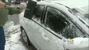 State Police Reports 30 Accidents Statewide From Overnight Snow [Video]