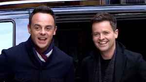 Ant returns to work with Dec [Video]