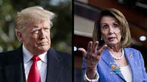 News video: Trump, Democrats Trade Jabs As Shutdown Drags On