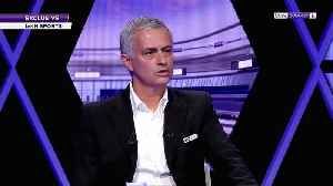 I still belong at the top, says Mourinho [Video]