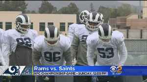 Young Rams Unfazed By Rain As They Prep For Saints Sequel [Video]