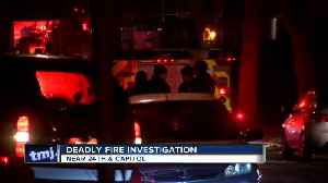 Fatal fire on Milwaukee's north side being investigated as suspicious [Video]