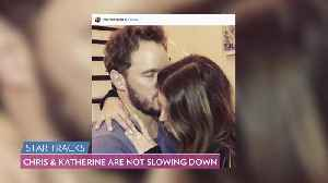 Chris Pratt and Katherine Schwarzenegger Are Living Together — and Love Their New Neighborhood! [Video]