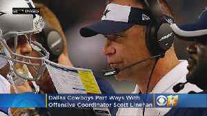Cowboys Part Ways With Offensive Coordinator Scott Linehan [Video]