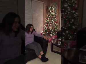 Girl Sobs When She Gets Puppy for Christmas [Video]