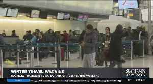 Travelers Heading To Newark Airport Prepared For The Worst [Video]
