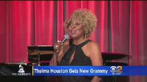 Thelma Houston Gets New Grammy [Video]