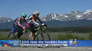 Ride The Rockies Route Announcement Friday Night [Video]