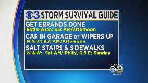 Planning Your Weekend Around Winter Storm [Video]