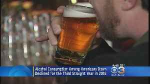 Alcohol Consumption Among Americans Down For 3rd Straight Year, Experts Say [Video]