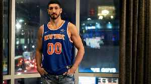 Turkish NBA player Enes Kanter misses out on basketball game in London amid safety concerns [Video]