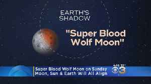 Super Blood Wolf Moon Can Be Seen Sunday night [Video]