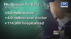 CDC Reports 9.6M Already Have Been Sick With The Flu This Season [Video]