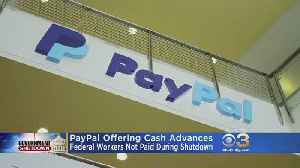 PayPal Offering Cash Advances To Federal Employees During Government Shutdown [Video]