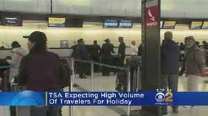 TSA Expecting High Volume Of Travelers For Holiday [Video]