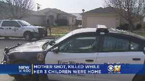 Domestic Violence Kills Woman In Front Of Her Children [Video]