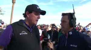 Mickelson lifted by big finish [Video]