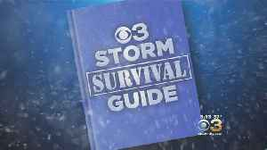 CBS3 Storm Survival Guide: Are You Prepared For The Storm? [Video]