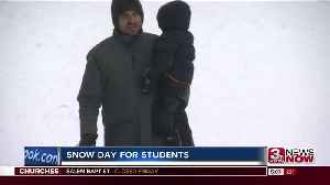 Snowday for students in Omaha [Video]