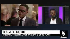 William Jackson Harper Didn't Expect to Break Barriers on 'The Good Place' [Video]