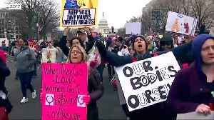 Women's marches hope to sidestep controversy [Video]